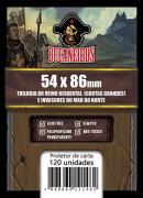 Sleeve Reino Ocidental - Cartas Grandes (54x86)