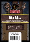 Sleeve Zombicide - Fichas de Sobrevivente (76x88) Bucaneiros