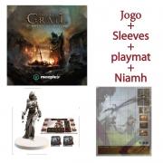 Tainted Grail: A Queda de Avalon + Niamh + Sleeves + Playmat (Pré-venda)