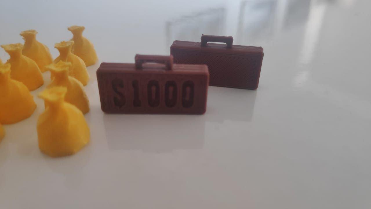 3D Colt Express (Kit com 26 itens)