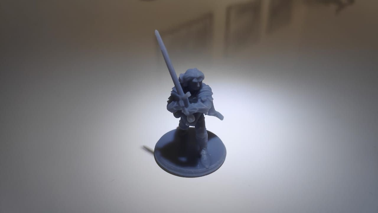 3D Miniatura 28mm em Resina