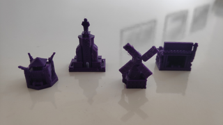 3D Scythe Kit Construções (Kit com 20 ou 28 itens)