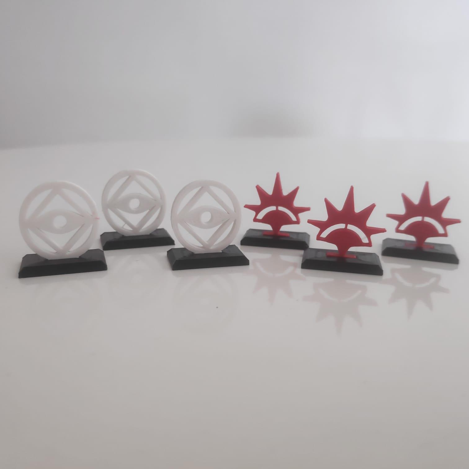 3D Tokens SDA: Jornadas na Terra Média (Kit com 25 ou 40 itens)