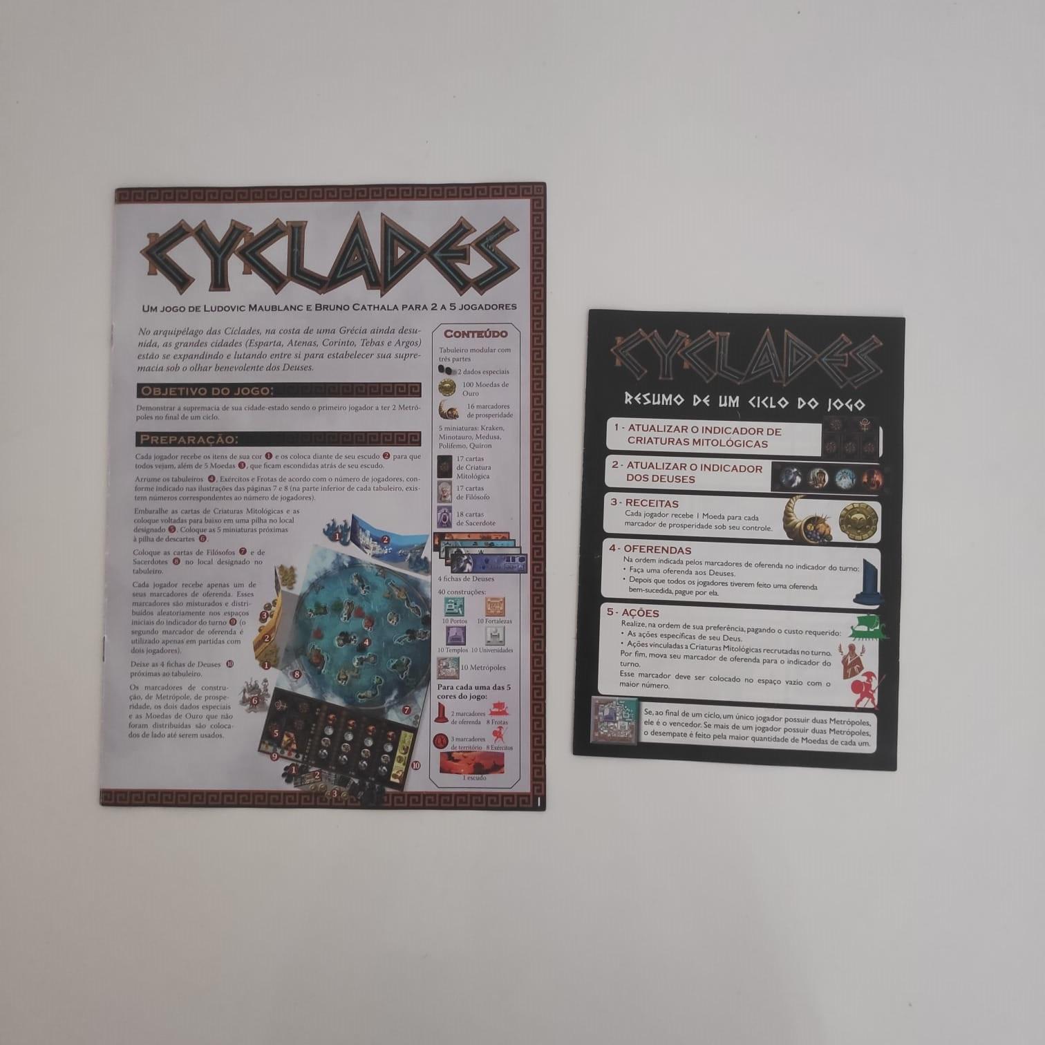 Cyclades - BAZAR DOS ALQUIMISTAS
