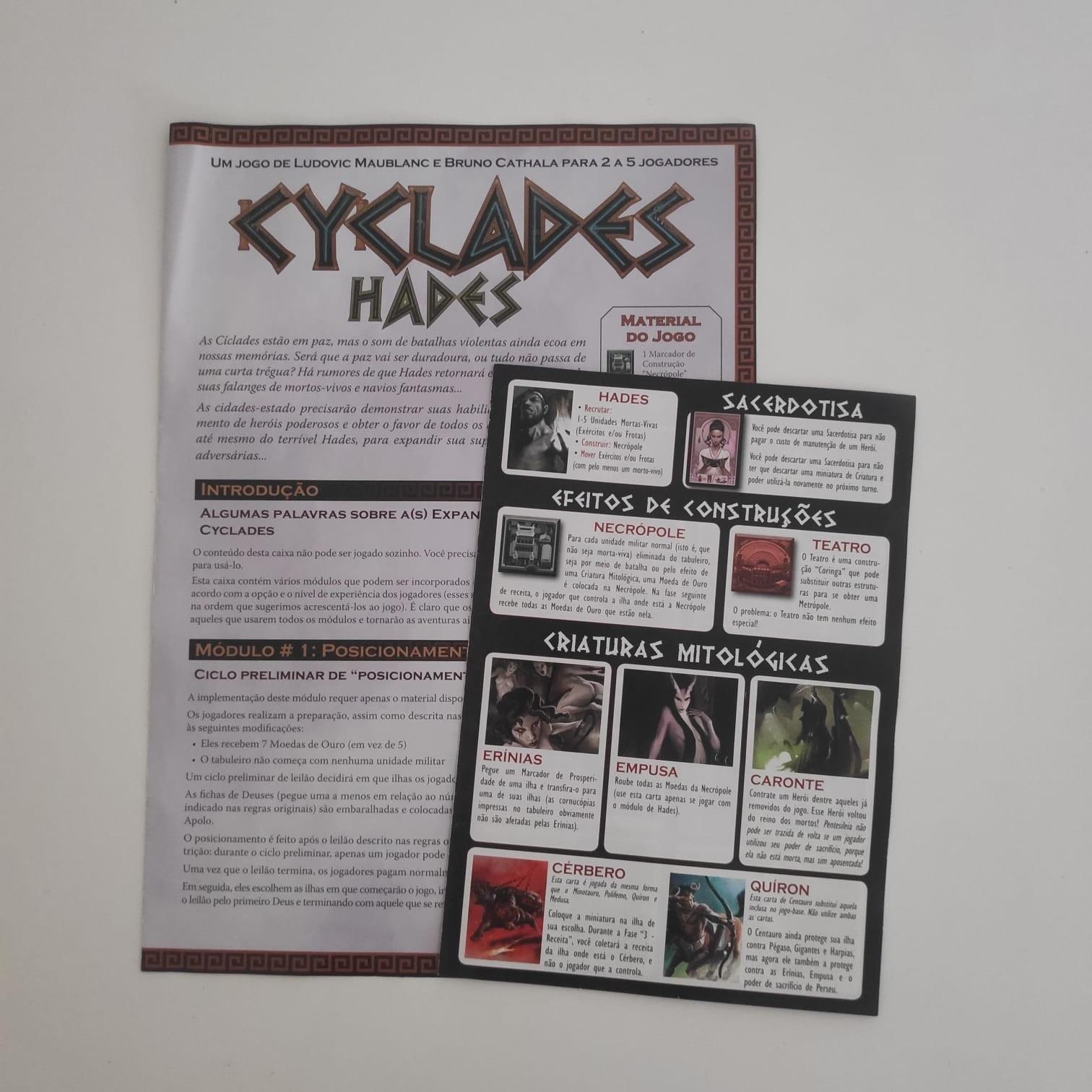 Cyclades: Hades - BAZAR DOS ALQUIMISTAS