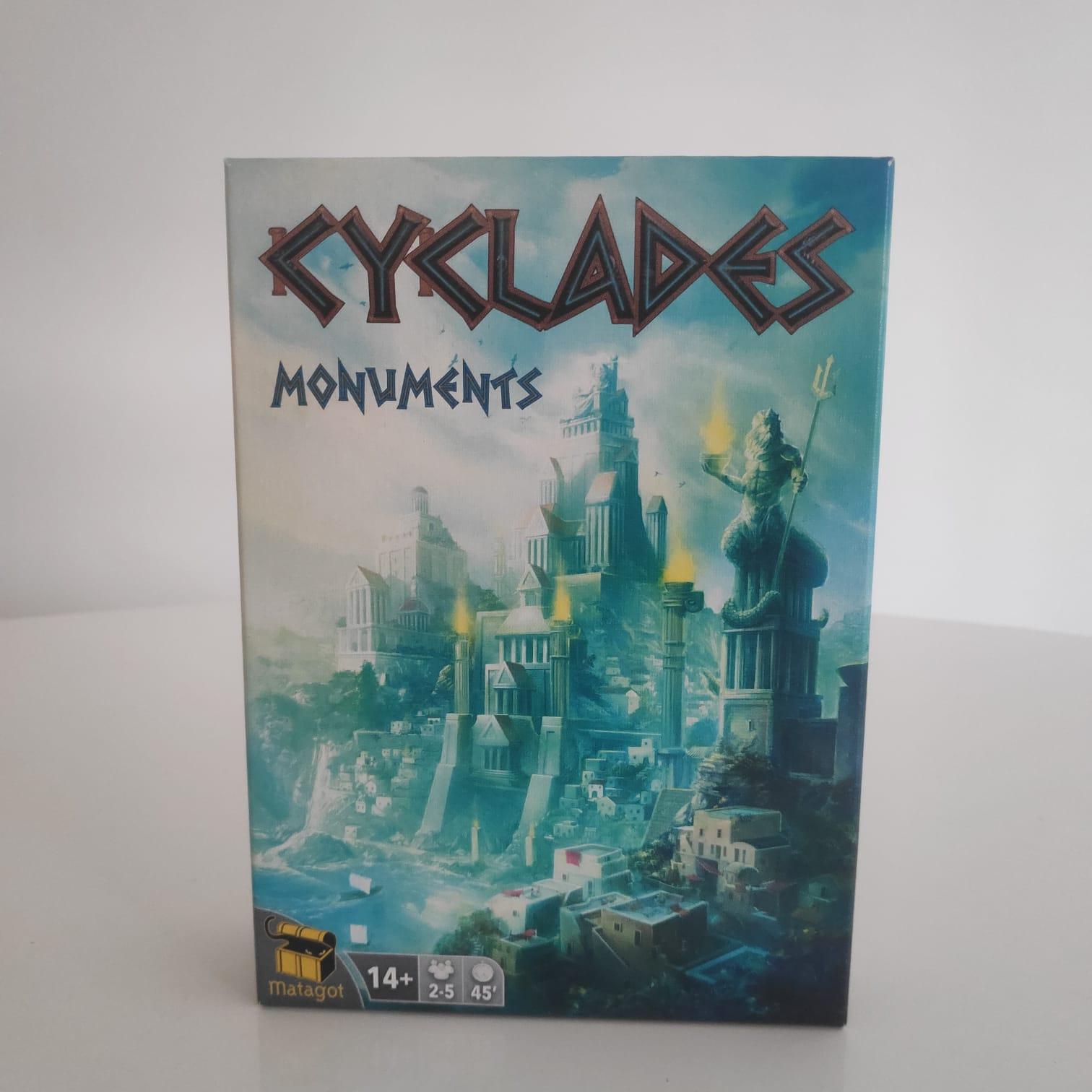 Cyclades: Monuments - BAZAR DOS ALQUIMISTAS