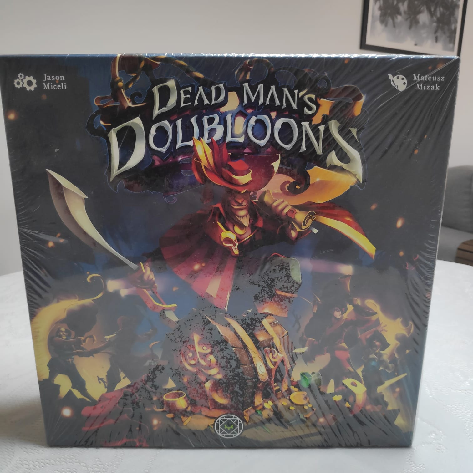 Dead Man's Doubloons - BAZAR DOS ALQUIMISTAS