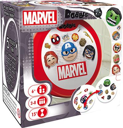 Dobble Emoji Marvel