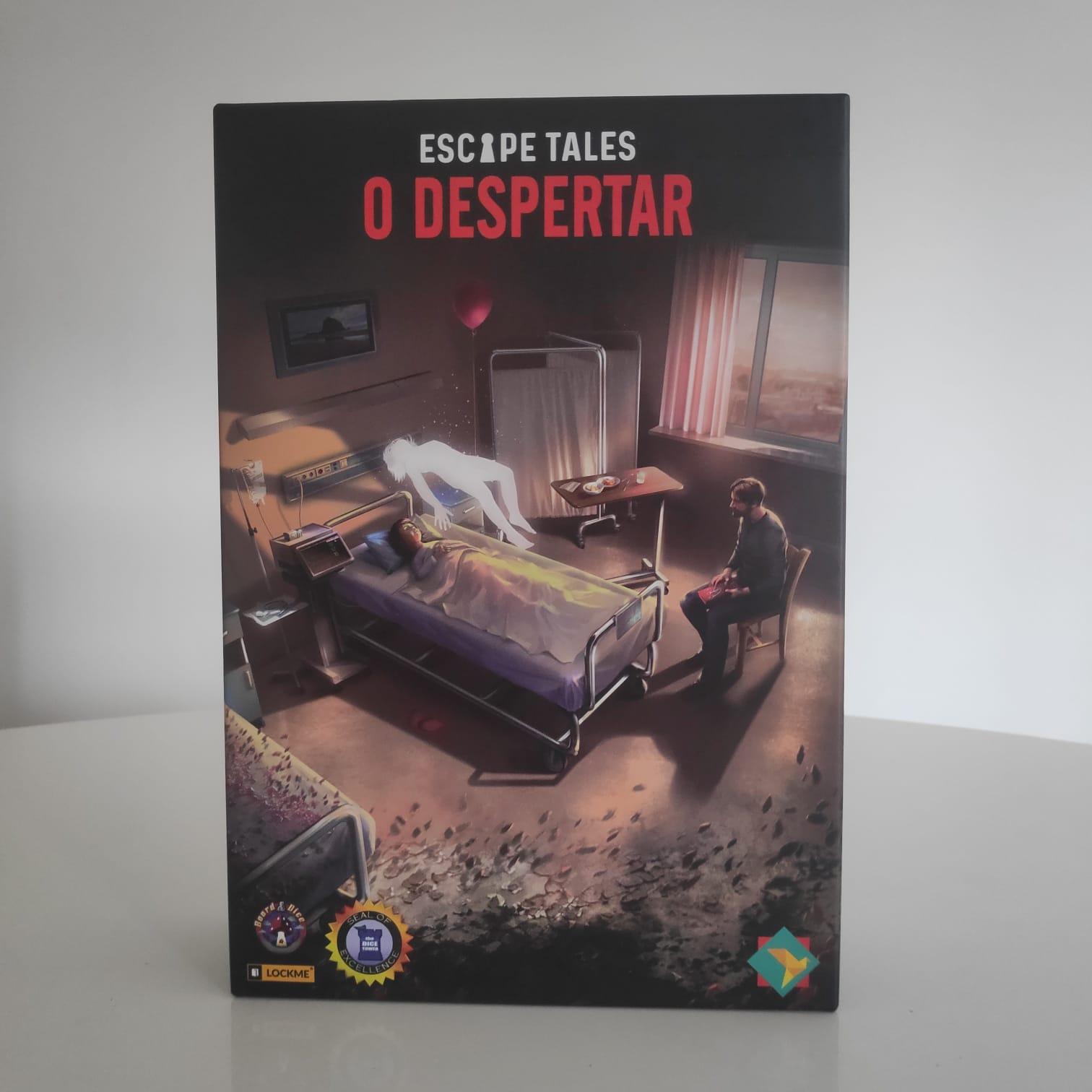 Escape Tales: O Despertar - BAZAR DOS ALQUIMISTAS