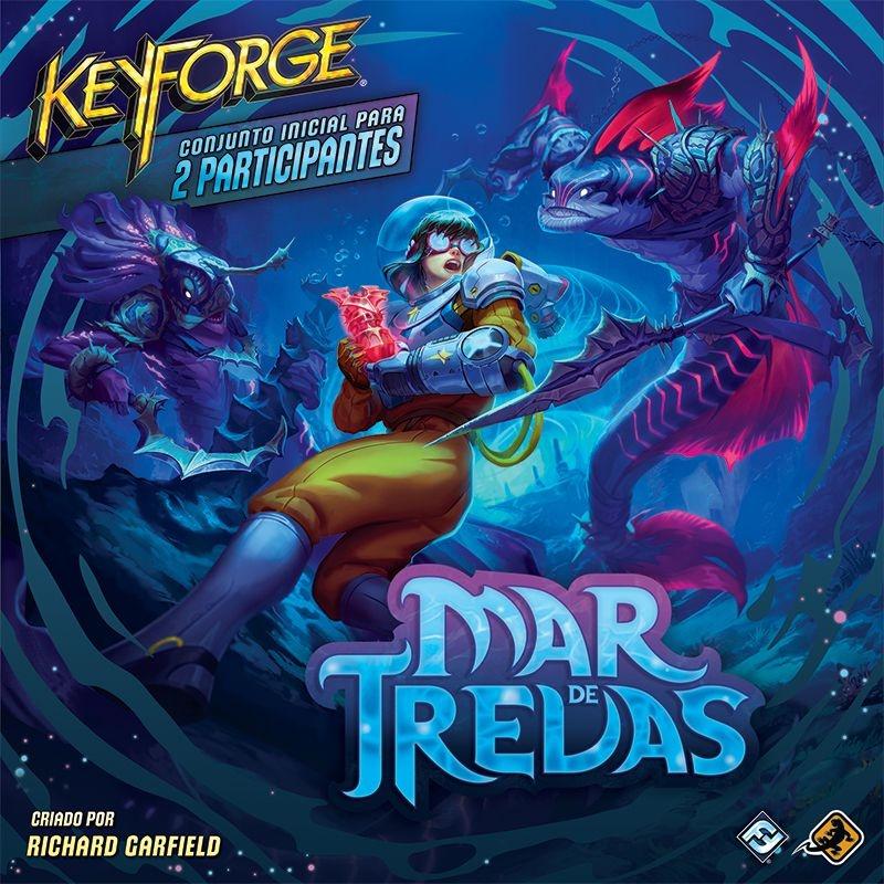 Keyforge Mar de Trevas - Deck + Deck Brinde