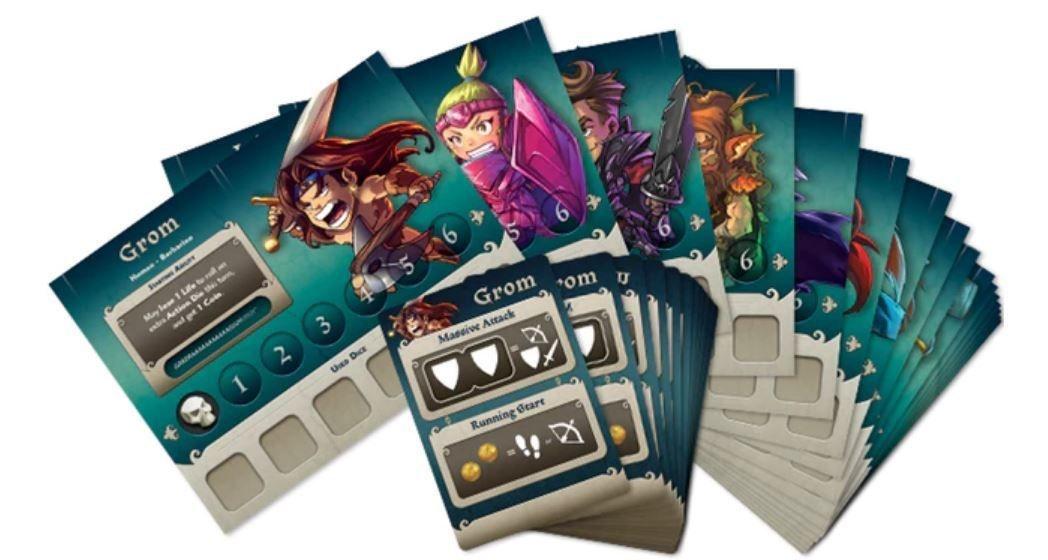 Masmorra: Dungeons of Arcadia + Arcadia Quest Crossover Kit + Adventurers Set + Sleeve