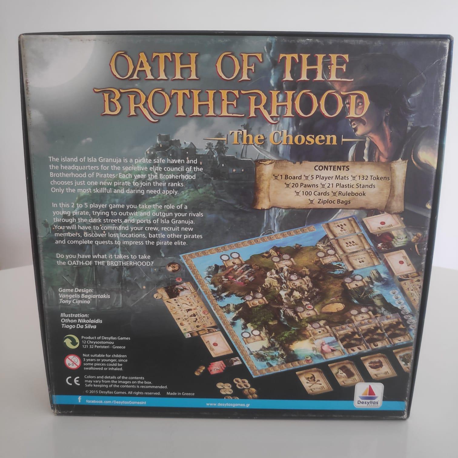 Oath of the Brotherhood - BAZAR DOS ALQUIMISTAS