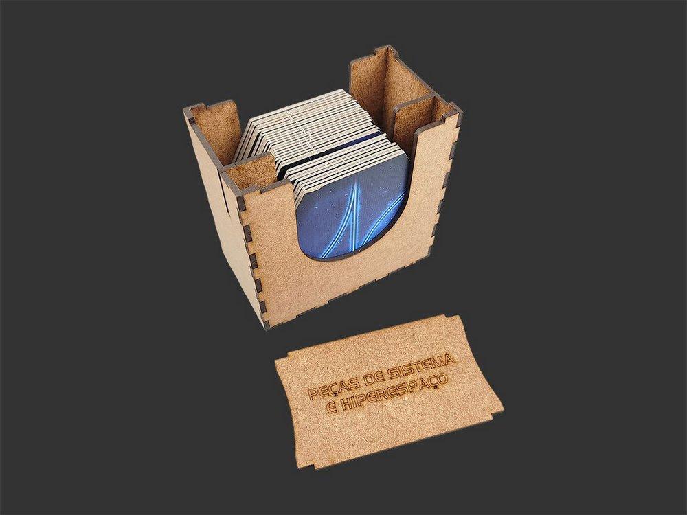 Organizador (Insert) para Twilight Imperium: Profecia Dos Reis (EXPANSÃO)