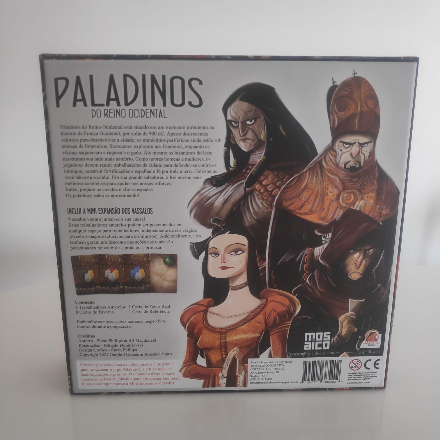 Paladinos - Big Box - BAZAR DOS ALQUIMISTAS