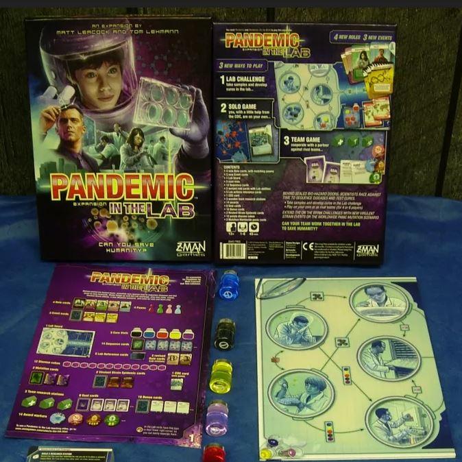 Pandemic: No Laboratório
