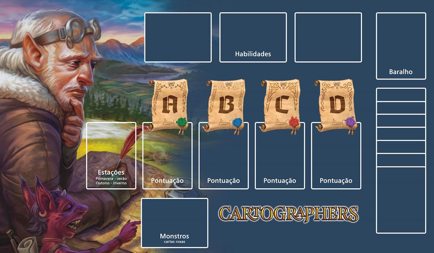 Playmat Cartógrafos