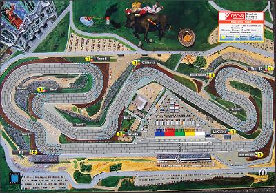 Playmat Formula D
