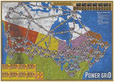Playmat Power Grid