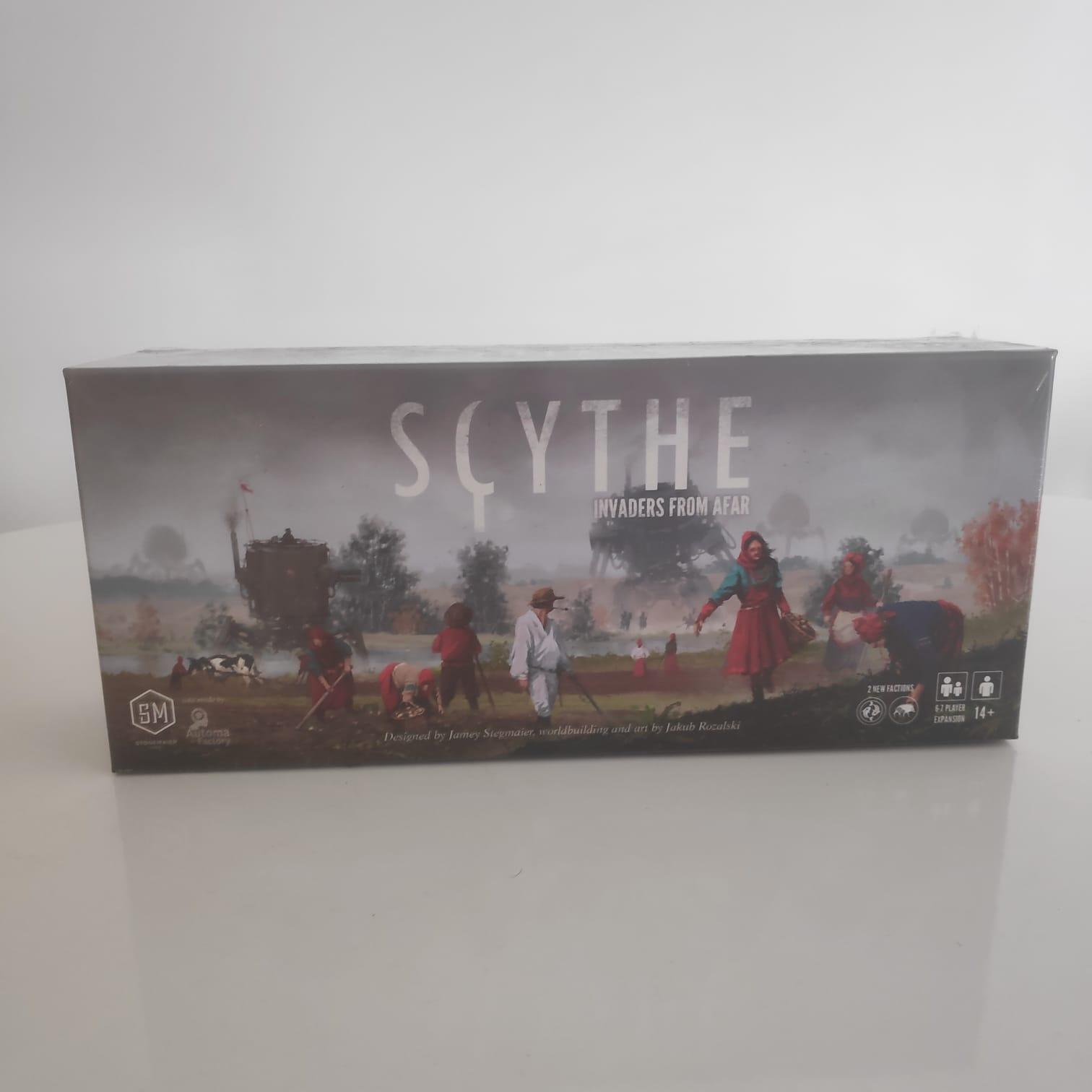 Scythe: Invaders From Afar - BAZAR DOS ALQUIMISTAS