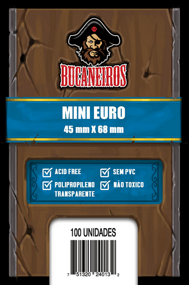 Sleeve Mini Euro (45x68)