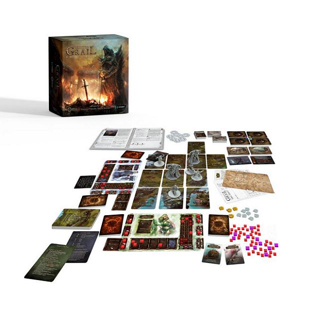 Tainted Grail: A Queda de Avalon + Niamh + Playmat (Pré-venda)