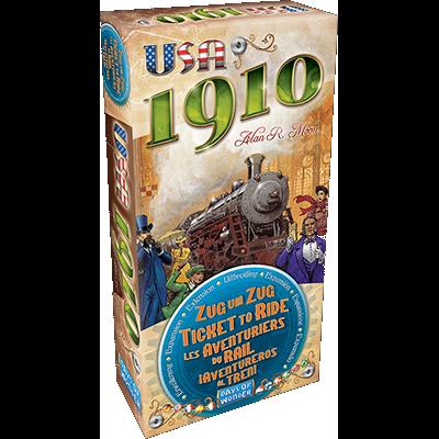 Ticket To Ride: EUA 1910