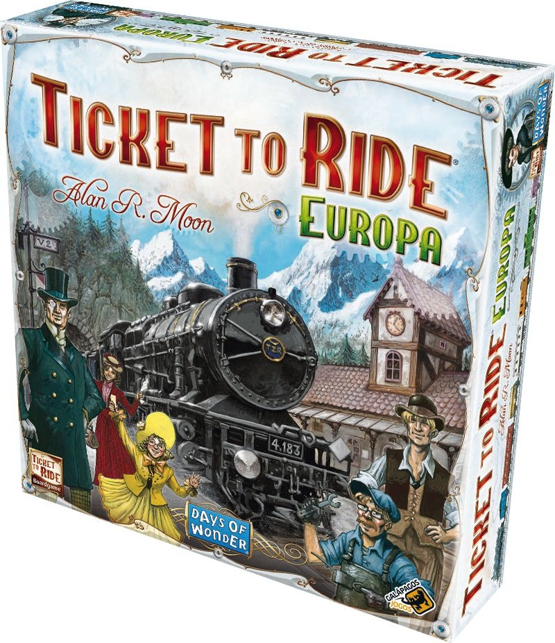 Ticket To Ride: Europa