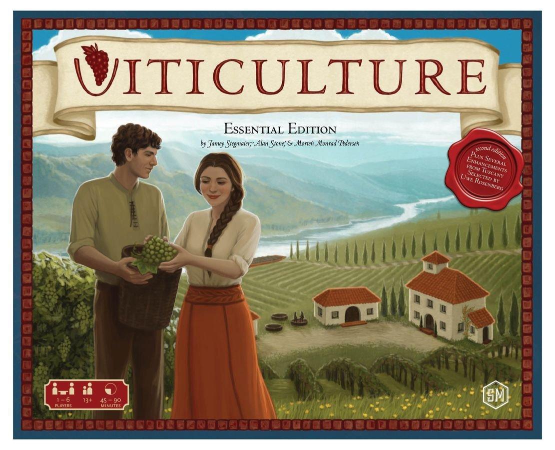 Viticulture Essencial Edition + Expansões + Sleeves
