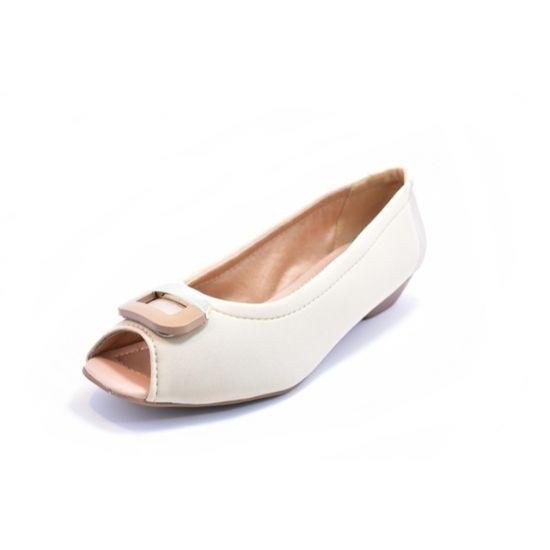 Sapato Renata Della Vecchia Peep Toe Feminino