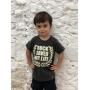 Camiseta Infantil Rock Saved