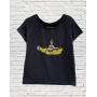 T-Shirt Yellow Submarine Gola Canoa