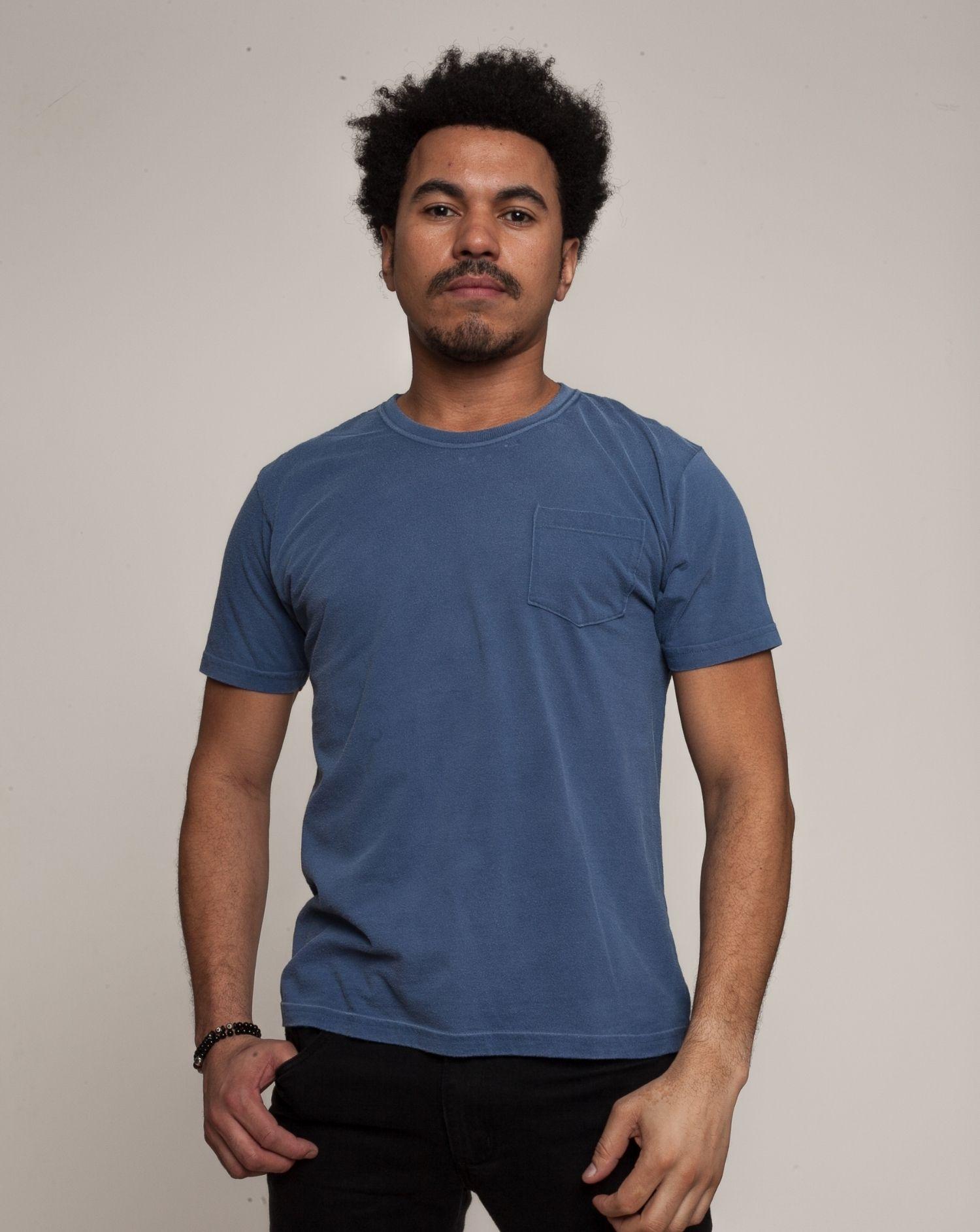 Camiseta Básico Azul