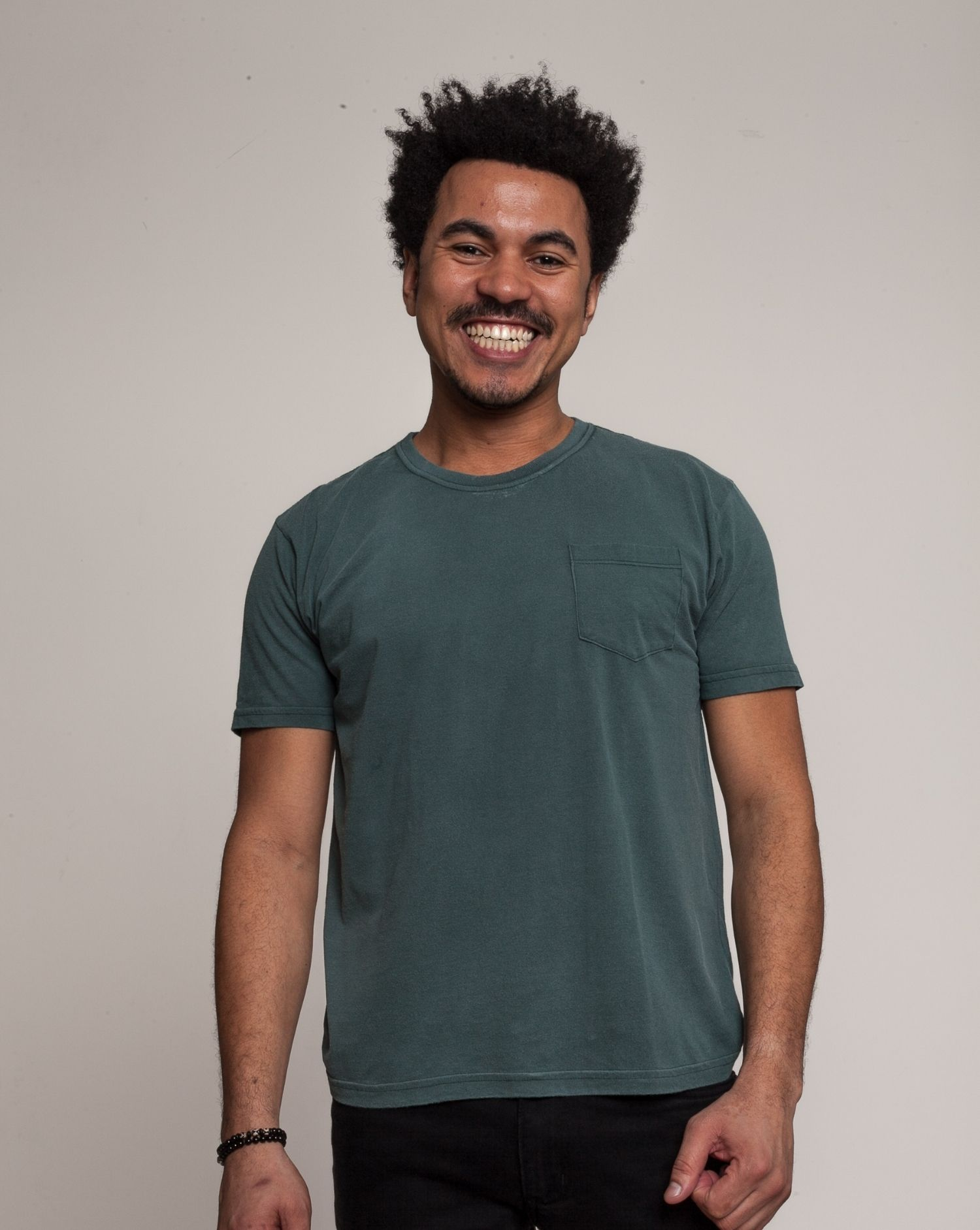 Camiseta Básico Verde