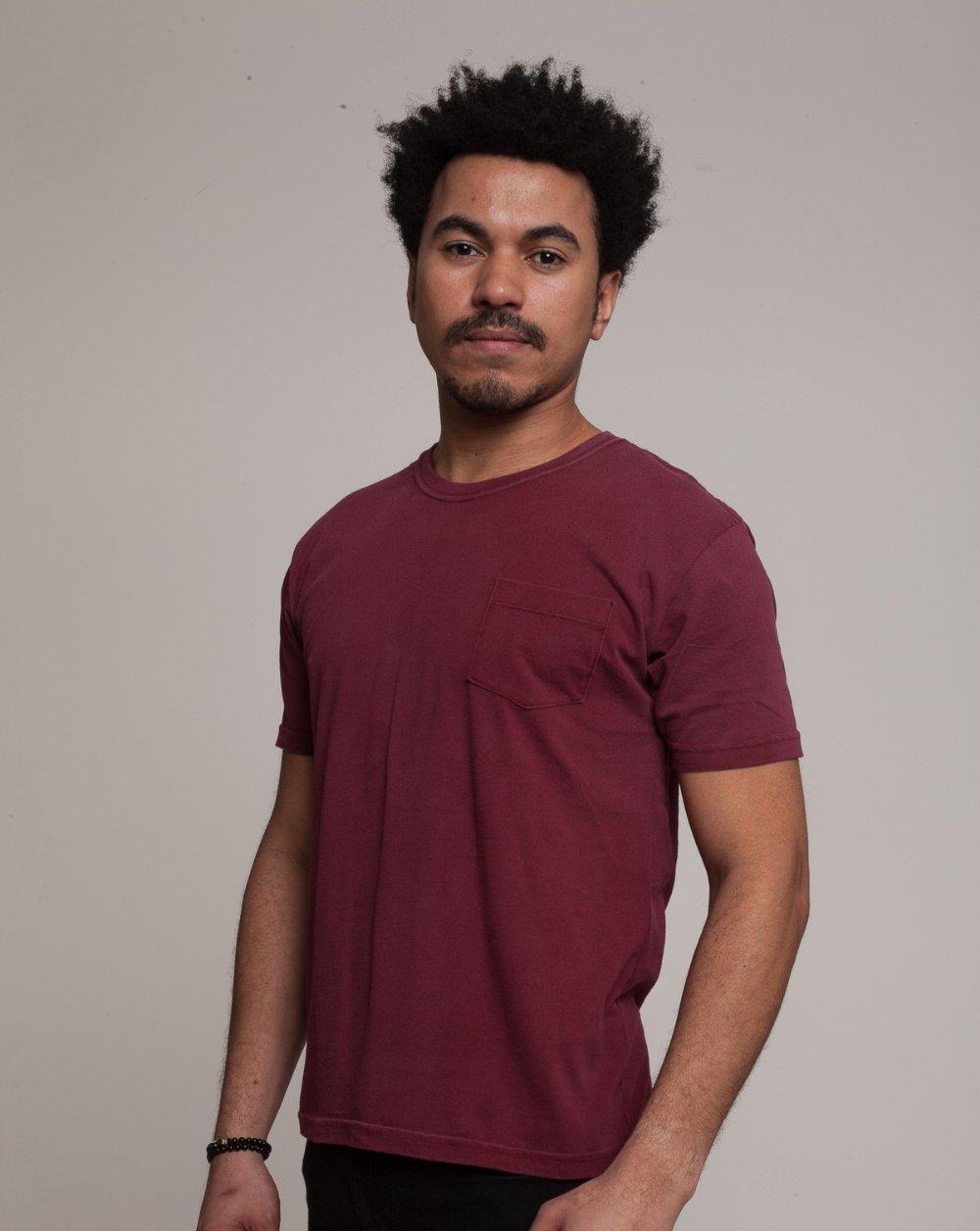 Camiseta Básico Vinho