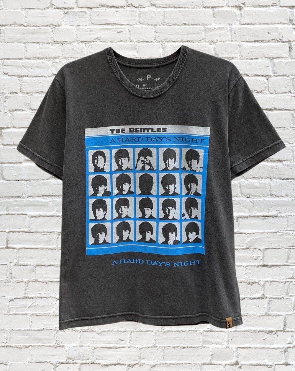 Camiseta Beatles Hard Days Night