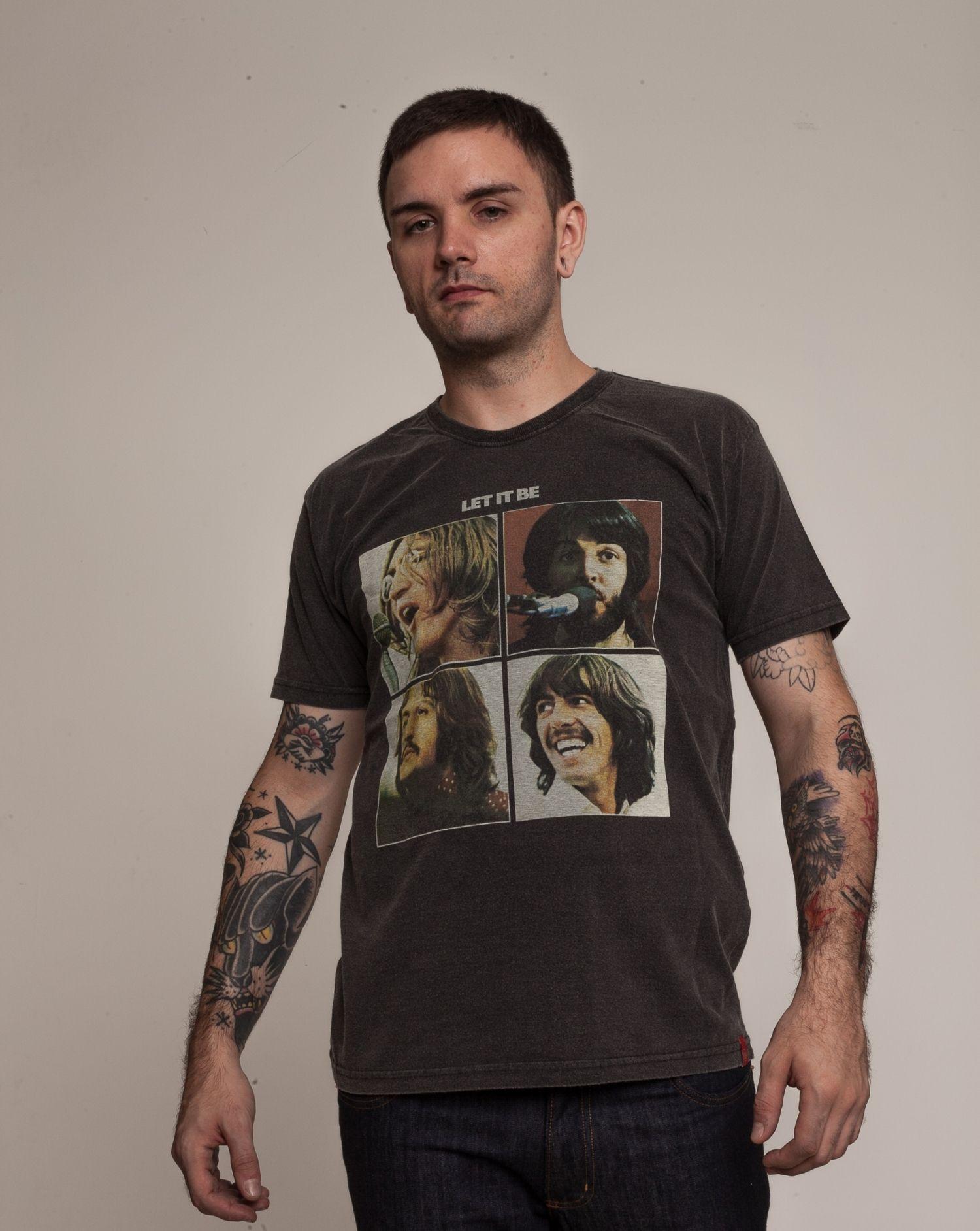 Camiseta Beatles Let it Be