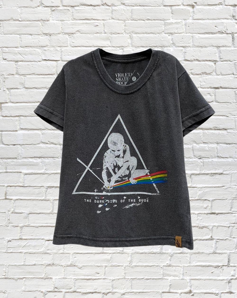 Camiseta Infantil Dark Side of the Gude