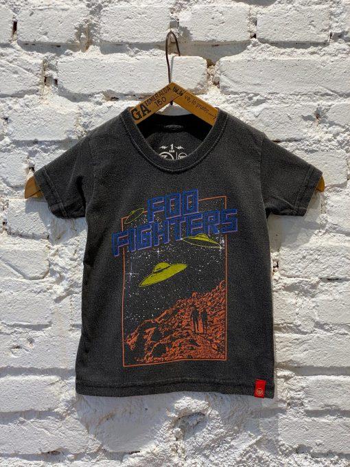 Camiseta Infantil Foo Fighters Ovni