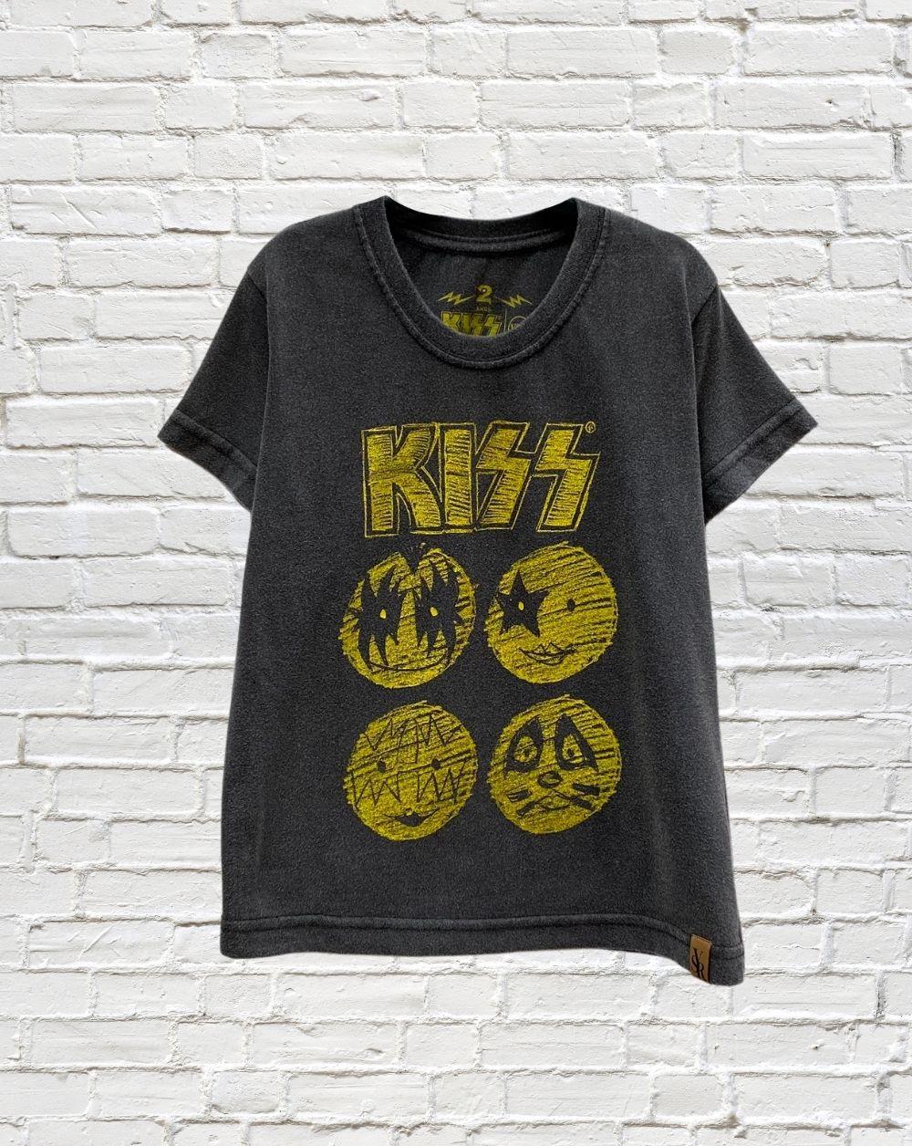 Camiseta Infantil Kiss