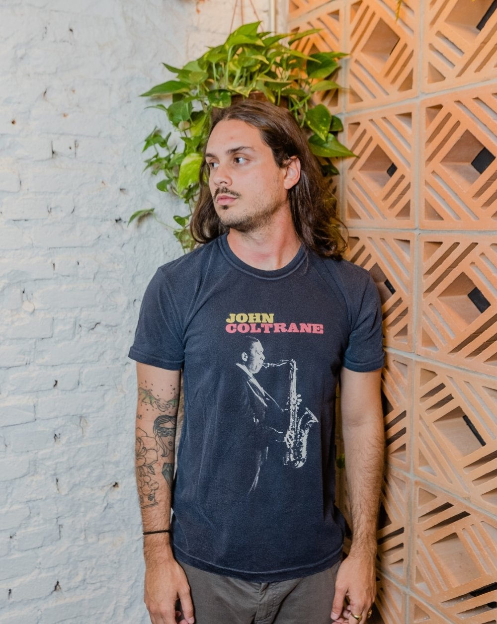 Camiseta John Coltrane