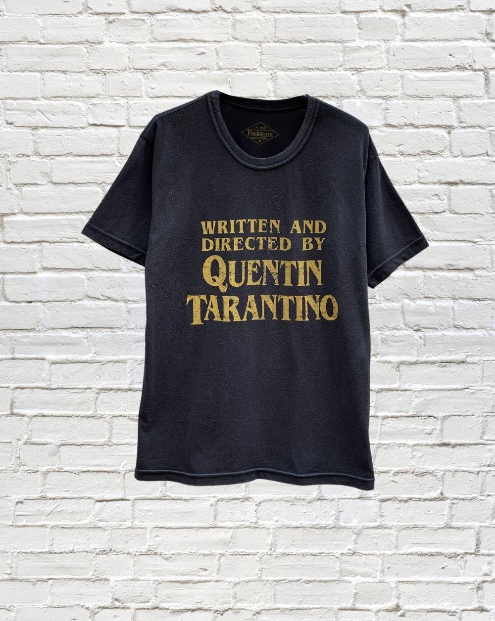 Camiseta Written And Directed By Tarantino