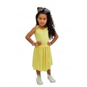 Vestido Ribana Amarelo Doce