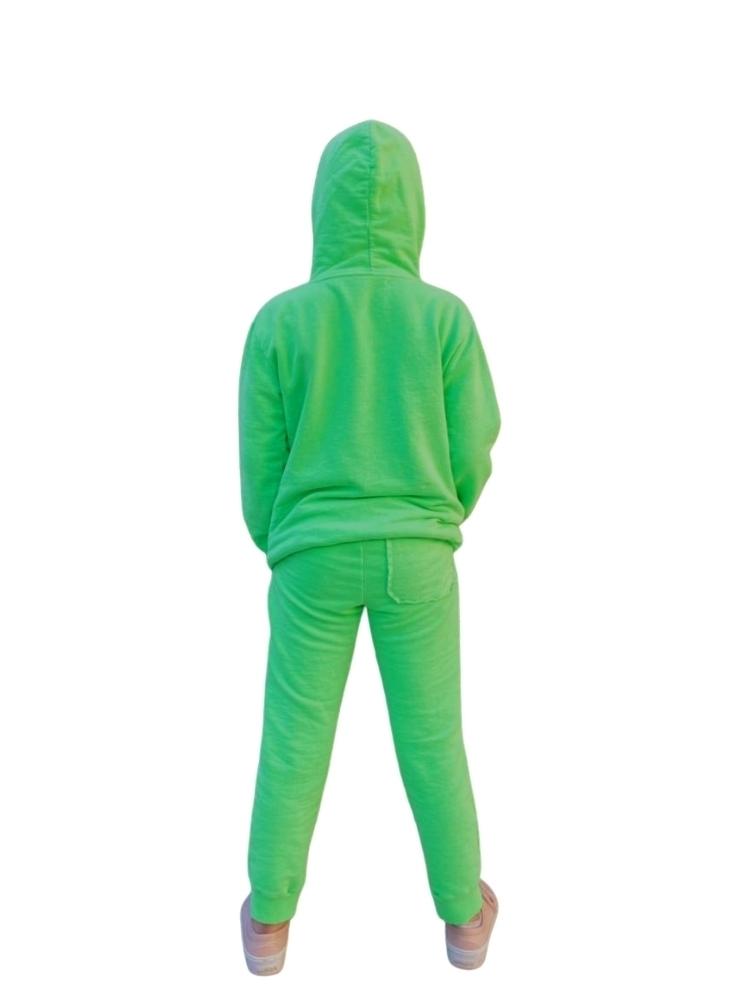 Conjunto Moleton Canguru Verde