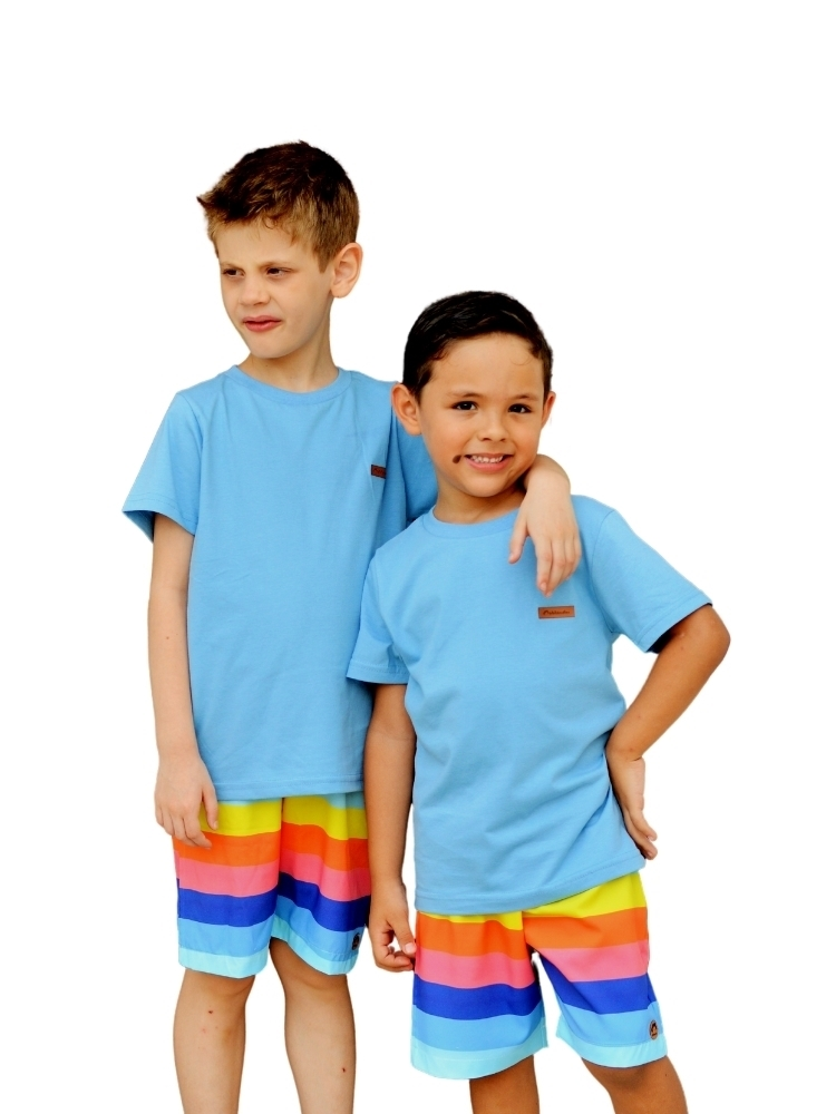 Camiseta Azul Doce