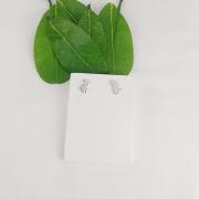 Brinco Prata Folhas - Natureza