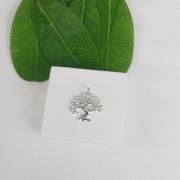 Pingente Prata Árvore - Natureza