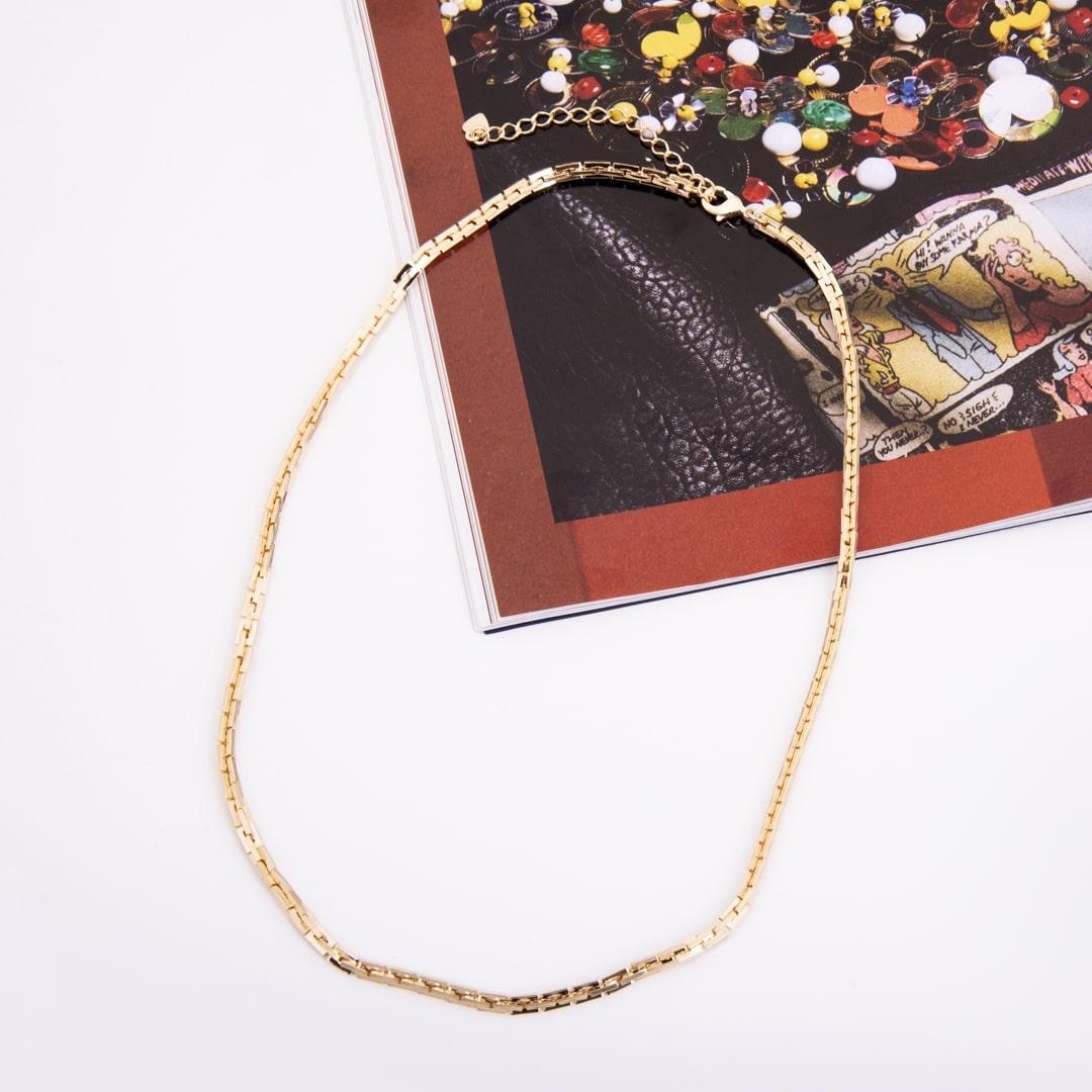 Colar Folheado Cartier Duplo - Glam