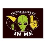 Placa Believe in me