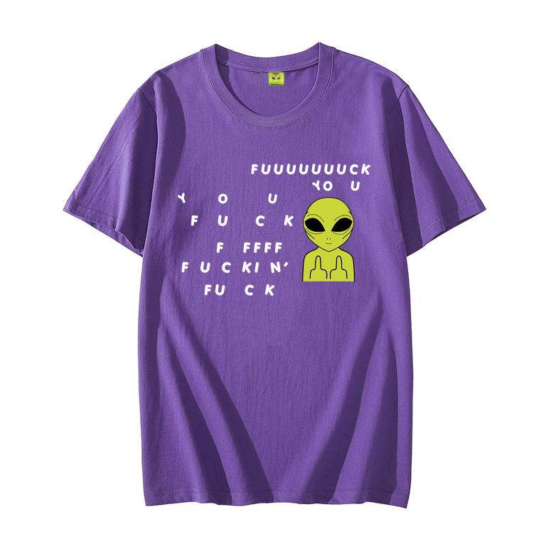 Camiseta Fuckin' Fuck Purple
