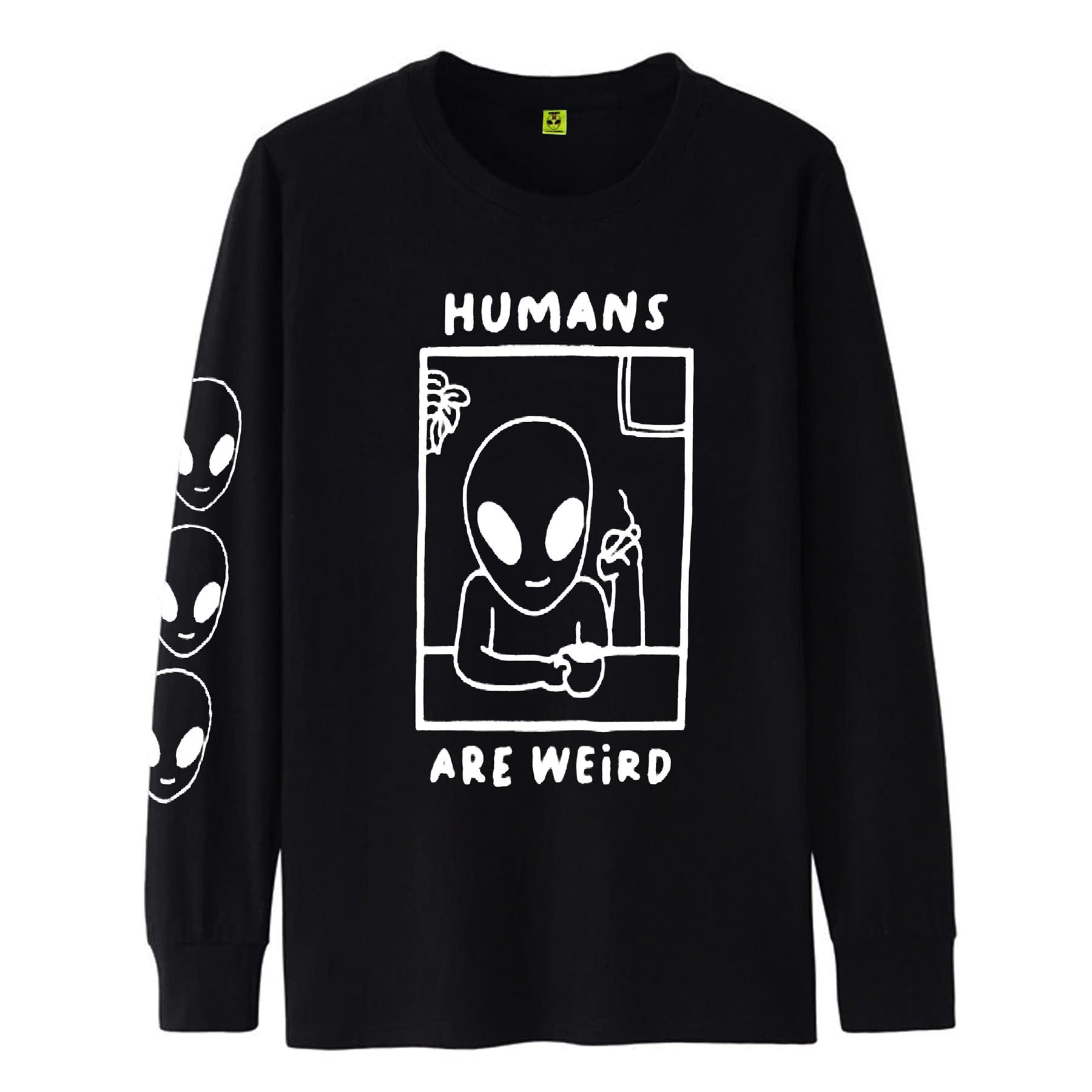 Camiseta Manga Longa Humans